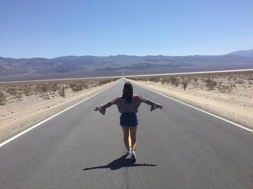 O calor de Death Valley