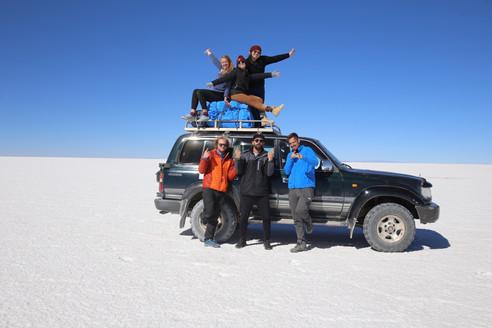 Do Atacama ao Salar de Uyuni