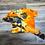 Thumbnail: orange tie die 2 piece