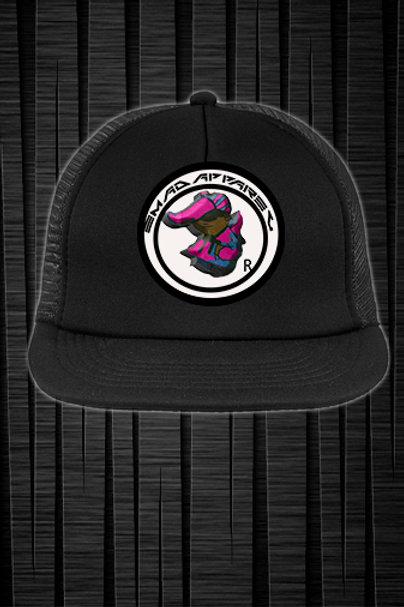 circle trucker hat