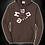 Thumbnail: Chocolate brown hoodie