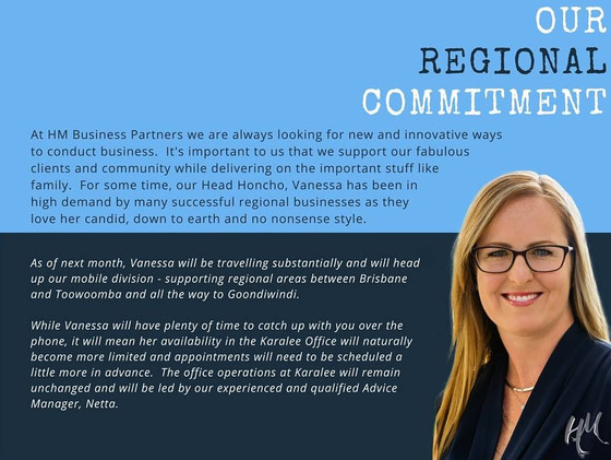 Our Regional Commitment