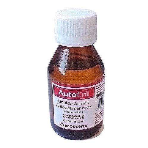 Resina Acrílica Autopolerimizável 50ML