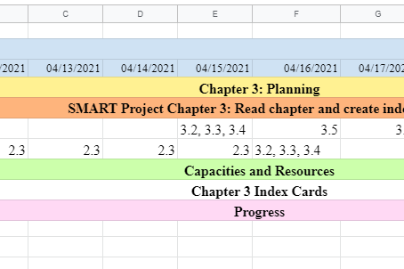 Implementing a LIFESMART Monthly Micro-Project Planner
