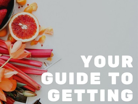 Your Guide to getting healthy: Let's talk Basics.