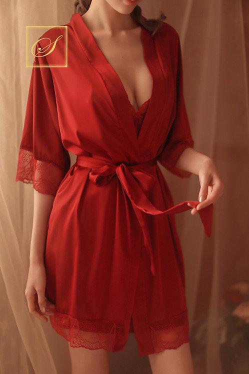 """Jasmine"" Evening Robe"