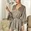 "Thumbnail: ""Akiko"" Elegant Japanese Robe (Grey)"