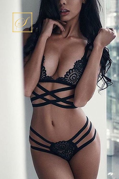 """Cindy"" 2 Piece Lingerie Set"