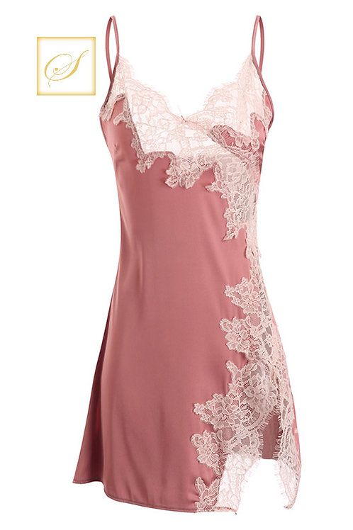 """Hannah"" Nightwear (Pink)"