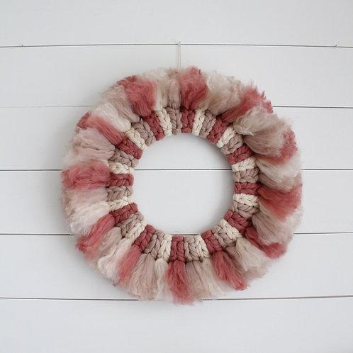 Pink Chunky Multi Toned Wreath