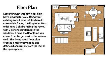 E-Design Services Calgary | Floor Plan
