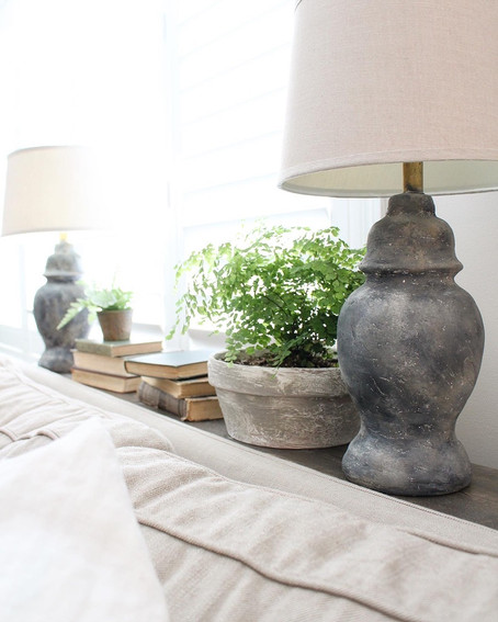 DIY Pottery Style Lamps