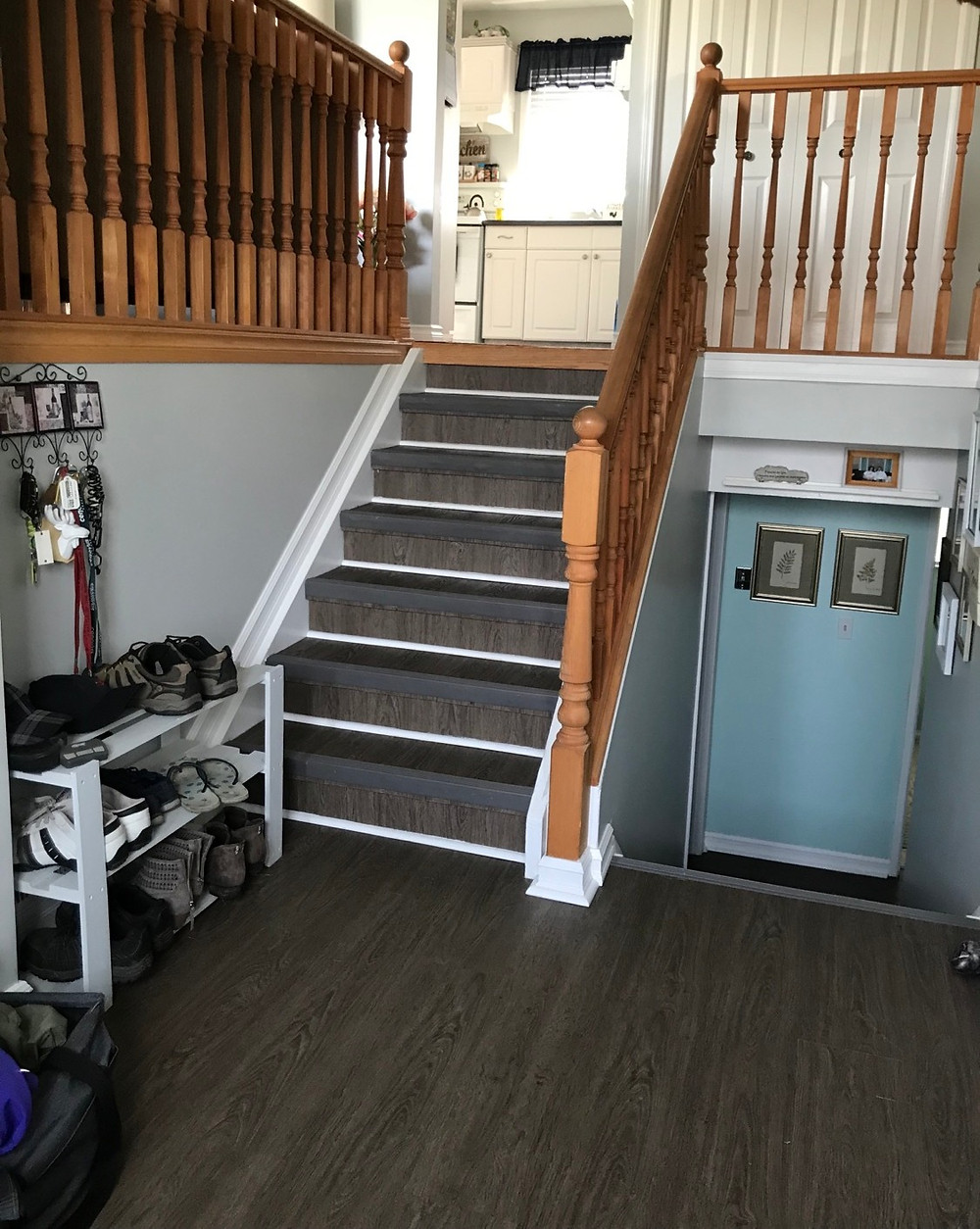 How To Paint Stair Spindles the Easy Way   Before Oak Spindles