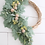 Thumbnail: Small Asymmetrical Lambs Ear Wreath