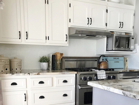 How to Paint Any Backsplash