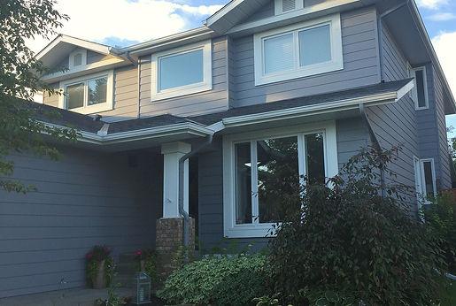 Blooming DIY-er home in Calgary, Alberta.