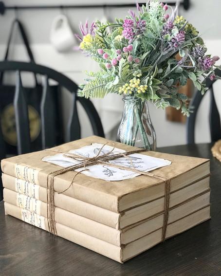 DIY Aged Book Bundle