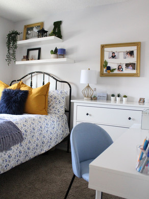 The Modern (and Affordable) Teen Girl Bedroom: Client Reveal