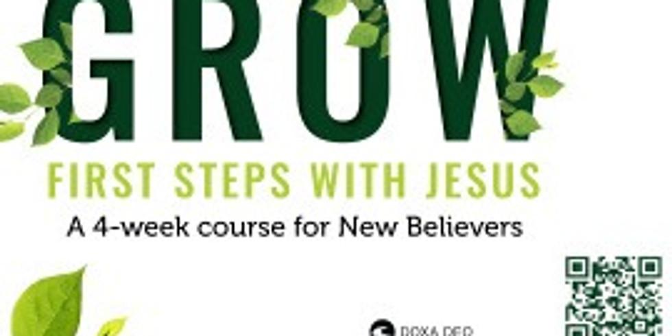 GROEI 1ste Treë saam met Jesus / GROW First Steps with Jesus