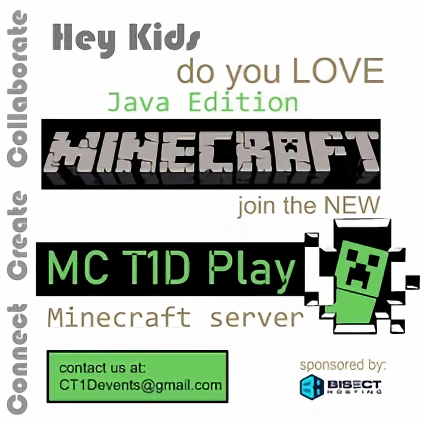 Minecraft T1D Play Project-Ongoing Enrollment