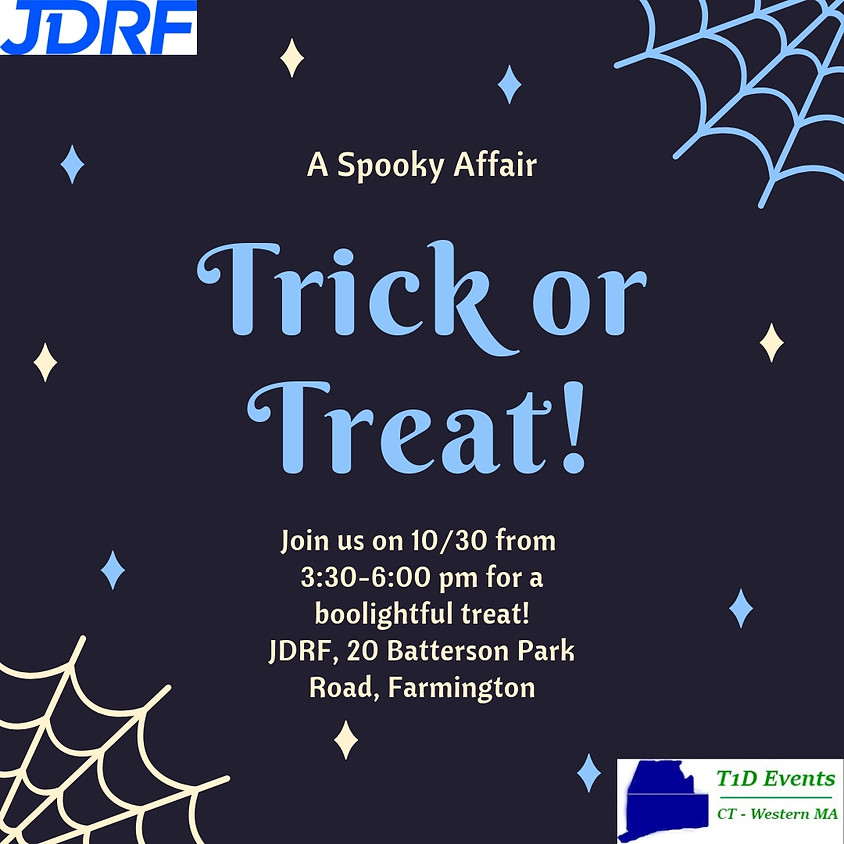Trick or Treat at JDRF