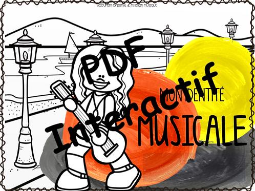 Mon identité musicale - cahier de l'élève interactif