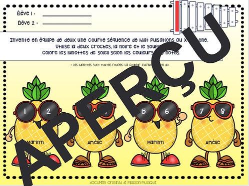 Inventer - Xylophone - Ananas