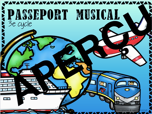 Mon passeport musical