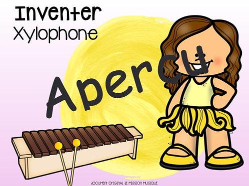 Inventer - Bananes -Xylophone