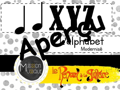 XYZ - L'alphabet modernisé