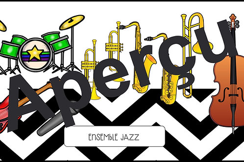 Affiches - Les ensembles musicaux