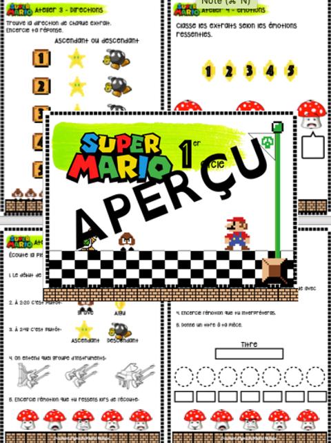 Corrigé - Mario Bros 1