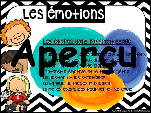 Les émotions - Le Guide