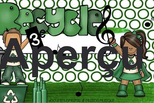 Recycler 6e année