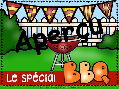 Le spécial BBQ - Hamburger