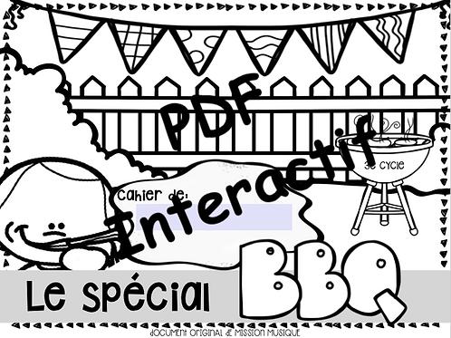 Le spéciale BBQ 3e cycle - Cahier de l'élève interactif