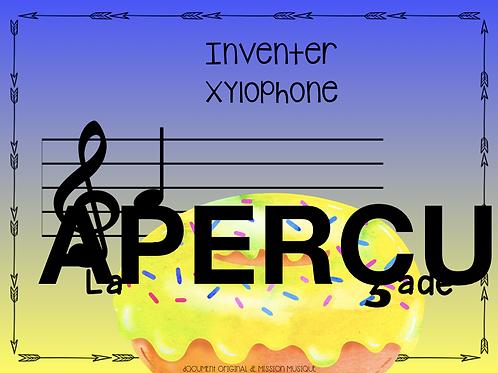 Inventer - La baignade - Xylophone