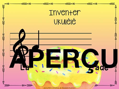 Inventer - La baignade - Ukulélé