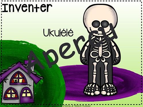 Inventer - Halloween - Ukulélé