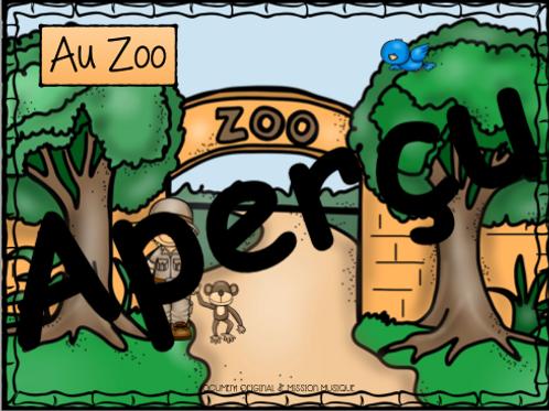 Le zoo - Carnaval des animaux