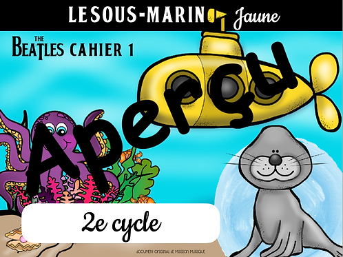 Le sous-marin jaune -the Beatles no1