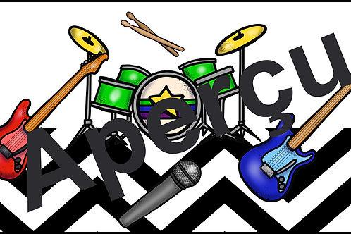 Affiches - Les instruments