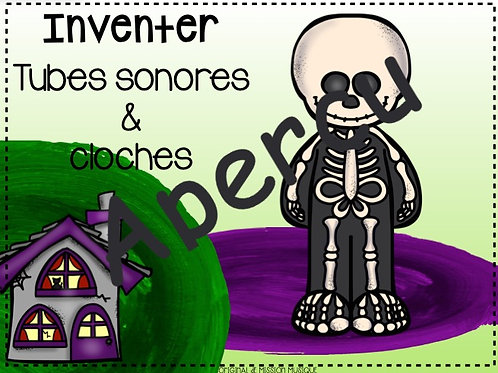 Inventer - Halloween - Tubes