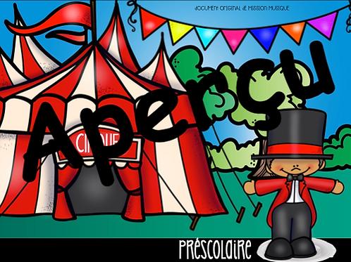 Cirque - préscolaire