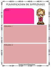 Planification_de_suppléance__-_Framboise
