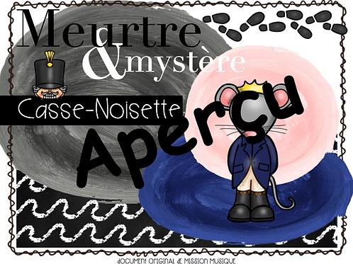Meurtre et mystère: Casse-Noisette