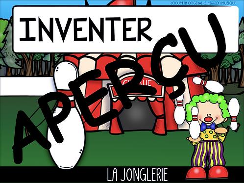 Inventer - La jonglerie - Quilles