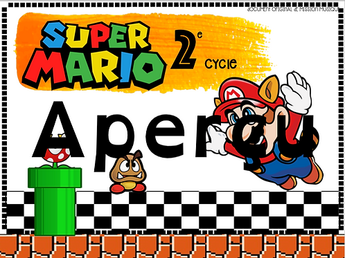 Mario Bros 2e cycle