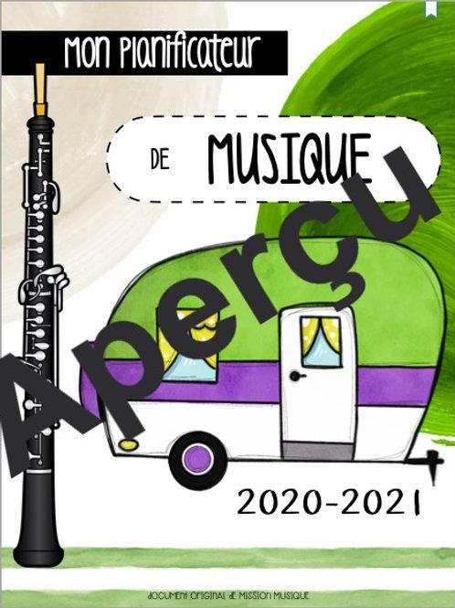Planificateur 2021-2022 - Camping