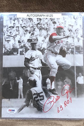 Pete Rose Reds signed 8x10 unframed Photo PSA/DNA certified
